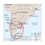 Voyages of Darwin Art