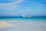 Beach and Tropical Sea Photographic Print by  Ronnachai
