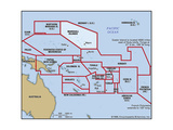 Map of Marshall Islands Print