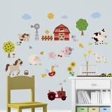 Amici della fattoria (sticker murale) Decalcomania da muro