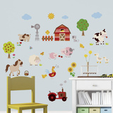 Farm Friends Wall Decal