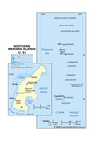 Map of Northern Mariana Islands Print