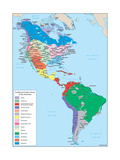 Culture Areas of the Americas Print
