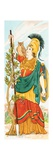In Greek Mythology Athena Was the Goddess of War, Handicrafts, and Wisdom and Reason Posters