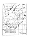 Map of Ohio, 1804 Posters