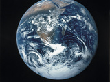 Photograph of the Earth Stampa fotografica