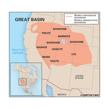 Great Basin Culture Area Print