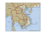 Map of Vietnam Posters