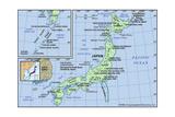Map of Japan Print