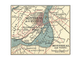 Map of Montreal Art