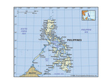 Map of Philippines Prints