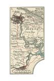 Map of Richmond Prints