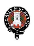 "The Badge of Clan Maclean, Which Reads, ""Virtue Mine Honour."" Posters"