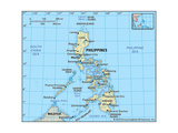 Map of Philippines Art