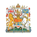 The Coat of Arms of Canada, Derived from the Royal Arms of the United Kingdom Prints