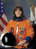 Barbara Radding Morgan, a Teacher and Astronaut Photographic Print