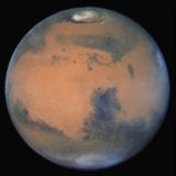 Image of Mars from Hubble Space Telescope Fotografická reprodukce