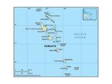 Map of Vanuatu Posters