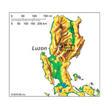 Map of Luzon Posters