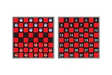 A Checkerboard, or Draughtboard, Set for Play Prints