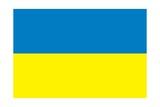 Flag of Ukraine Poster