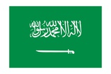 Flag of Saudi Arabia Poster