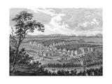 Moravian Settlement at Bethlehem, Pennsylvania Posters