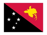 Flag of Papua New Guinea Posters