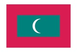 Flag of Maldives Posters
