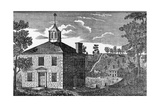 Chillicothe Courthouse, 1801 Posters