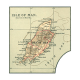 Map of the Isle of Man Prints
