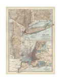 Map of New York State Prints