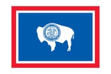 Wyoming State Flag Print