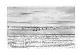 The French Fleet Sails into Newport Print