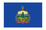 Vermont State Flag Posters