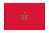 Flag of Morocco Prints