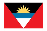 Flag of Antigua and Barbuda Posters