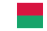 Flag of Madagascar Plakater