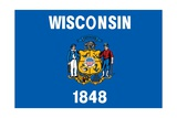 Wisconsin State Flag Prints