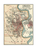 Map of Omaha Posters