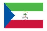 Flag of Equatorial Guinea Print