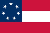 Historical Flag of the United States of America Póster