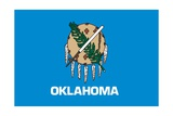 Oklahoma State Flag Prints