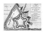 Plan of the New Fort at Pittsburgh Prints