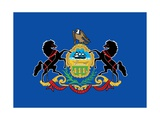 Pennsylvania State Flag Prints