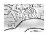 City Map of Albany, New York Print