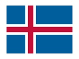 Flag of Iceland Prints