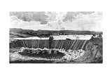 Falls of St. Anthony, in the Mississippi River Prints