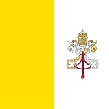 Flag of Vatican City Poster