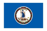 Virginia State Flag Posters